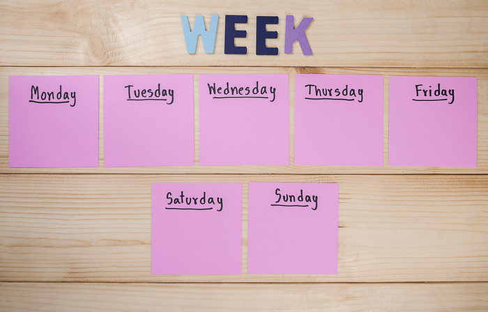 6 Steps to Plan your Week for Success